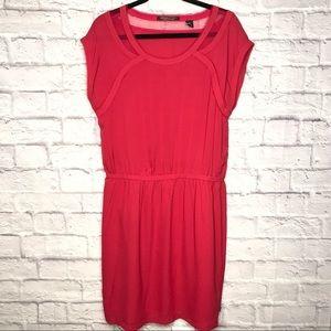 Maison Scotch Silk Sleeveless Dress